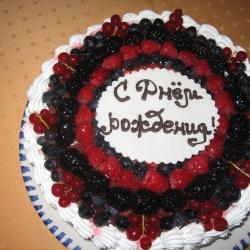 """Торт """"Фруктово-ягодный"""""""
